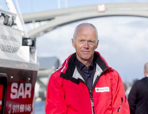 RESIDENT: Robert Mood er president i Norges Røde Kors.