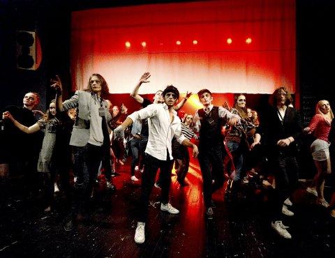 STILLIG: Realityshowet tar etter hvert en overraskende vending! Alle foto: Anita Høiby Gotehus
