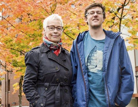 Mo Hornmusikk: Anneke Leenheer og Jack Royle forbereder både seg selv og Mo Hornmusikk fram til sesongens første konsert 25. oktober. Foto: Kristian Rødvand