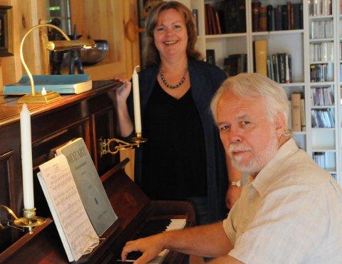Marianne Hirsti og Terje Kvam samarbeider gjerne med Jevnaker kulturskole.