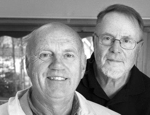 HELSE: Fastlege Steffen Steffensrud og pensjonert journalist Anders Skrataas har tatt en helseprat igjen.
