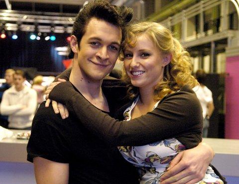 Bjørnar Reime Erlandsen og Sofie Bjerketvedt som Danny og Sandy i 2008.