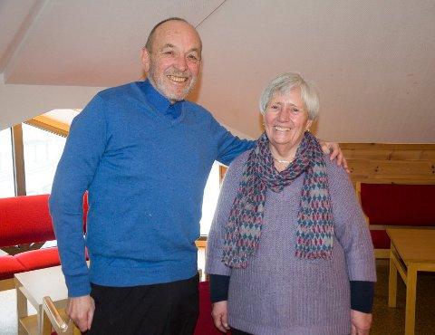 EKTEPAR: Per og Jorun Askilsrud har vært gift i 49 år og støtter hverandre i tykt og tynt. De har viet sitt liv til å hjelpe rusmisbrukere og satset mye på politikken. Per topper KrF-listen i Ringerike, mens Jorun er på tredjeplass.