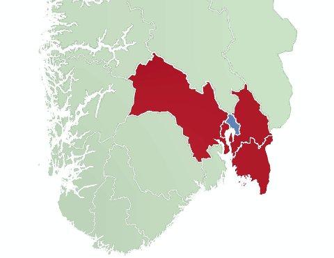 Unaturlig: Akershus er i samtaler med Østfold og Buskerud om å lage et superfylke, men det er unaturlig at Oslo ikke skal med. Regionreformen bør ta utgangspunkt i felles utfordringer, bo- og arbeidsmarkeder, ikke gamle grenser.ILLUSTRASJON: RB