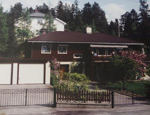 SKILLEBEKK: Roar og Kirsten synnøve bygde to hus i Nittedal og bodde der i mange år – før de flyttet i leilighet i 1993.