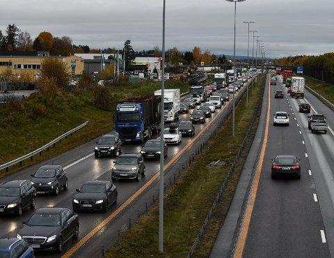 FRYKTER KØKAOS: Statens vegvesen frykter en stenging av en tunnel i Oslo kan skape store køer helt opp til Romerike.