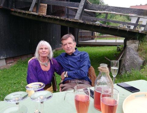 Utstillerne på Reidvin-tunet i sommer: Bodil Haugerud og Matko Plosnić