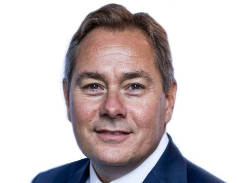 BANKSJEF: Glenn Haglund er ny banksjef i Eidsberg Sparebank, som har en egen avdeling i Sarpsborg.