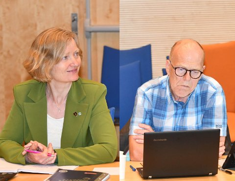 IKKE BESTEMT SEG: Gruppelederne i Senterpartiet; Kristin Iansen og Arbeiderpartiet; Trond A. Enger opplyser at de to partiene ikke har tatt noen avgjørelse om Gislingrud ennå.
