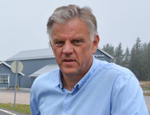 Kommunalsjef i Marker kommune, Vidar Østenby, forteller om mange søknader fra det lokale næringslivet.