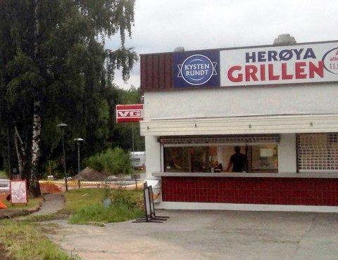 IKKE BEVILLING: Herøyagrillen innvilges ikke serverinsbevilling, konkluderer Porsgrunn kommune.