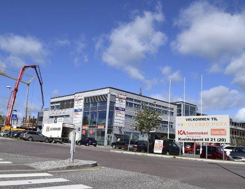 GOD INNTJENING: Etter at Olsrød Park utvidet, tjener de gode penger på å leie ut 11.500 kvadratmeter.