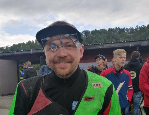 I KONGELAGET: Hans Kristian EWear er klar for kongelaget på Landsskytterstevnet i Førde.