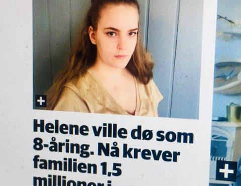 –I mange tilfelle nekter derfor kommunen å betale, fordi de mener at bevisene ikke er sterke nok til at de vil tape saken i retten. Dette var også situasjonen i Helenes sak, som er grundig dekket av nettavisen Nidaros, skriver advokat Leif Strøm.
