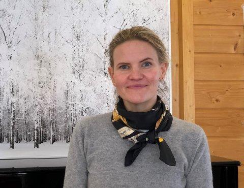 TRENGER SVAR: Daglig leder ved Nord-Aurdal frivilligsentral, Marta Bjørnøy Lalim, trenger folkets hjelp til å kartlegge frivilligheten i kommunen.