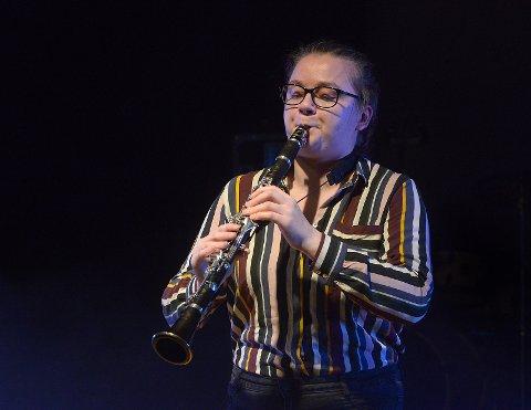 Agnes Bjørnerås Langøien på klarinett.
