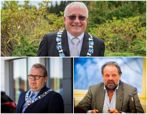 Både i Austrheim, Fedje og Gulen kommunar har det vore smitte dei siste vekene. Ordførarane Per Lerøy, Stian Herøy og Hallvard Oppedal er optimistiske til situasjonen.