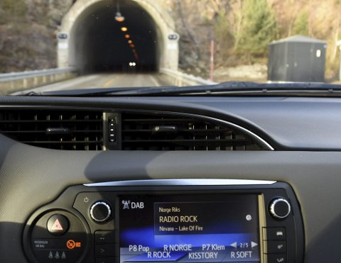 Snart på plass: Om en drøy måned vil det være etablert DAB-løsning i utvalgte tunneler i Nordland. Tunneler som er kortere enn 500 meter får ikke DAB. Det samme gjelder E6-tunneler på opptil 1250 meter. Foto: Øyvind A. Olsen