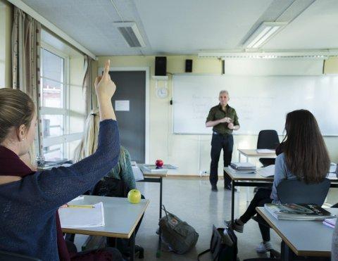 Svartmaler ikke: Bodøskolen er bra, først og fremst på grunn av heltene som jobber der. Man må derfor kunne advare mot å fjerne suksesskriteriet, uten å bli beskyldt for å svartmale eller mase.Illustrasjonsfoto: NTB scanpix