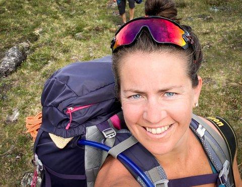 Aktiv: Ann-Cathrin Løland går ikke bare turer i fjellet. Denne helgen skal hun delta i NM i functional fitness.