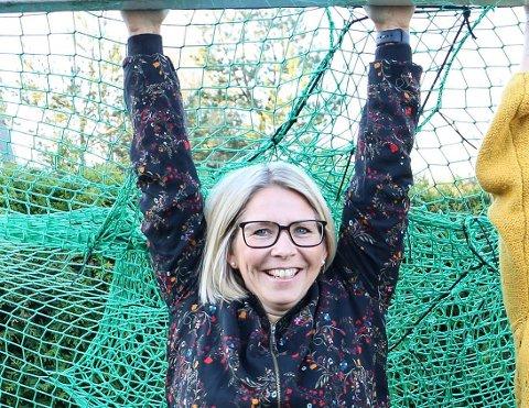 """ILDSJEL: Cecilie Føreland fra Sætre er med i kampen om å bli """"Årets fotballmamma""""."""