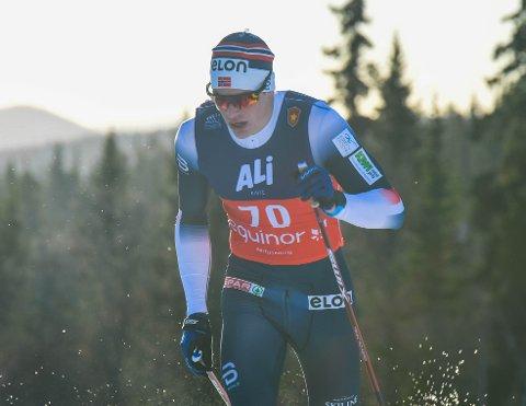 Andreas Kirkeng leverte best av de lokale herrene i prologen og havnet på 48. plass. Det holdt ikke til å gå videre.