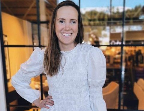 SPONTAN BUTIKKSJEF: Same dag som Rebekka fekk ideen om å starte eiga klesbutikk var prosessen i gang.
