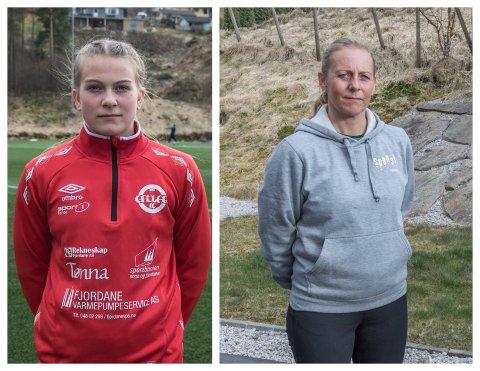 KOM IKKJE INN: Tuva Etterlid Kjøs kom ikkje inn på idrettslinja i Sogndal. – Vi var litt godtruande, som trudde at dette skulle ordne seg, seier mamma Aud Etterlid.