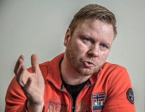 TØFFE TIDER: Det blåser på toppene i FFK. Styreleder Jostein Lunde medgir at det var det negative personfokuset som fikk Håvard R.F. Johansen til å gå av. Foto: Geir A. Carlsson