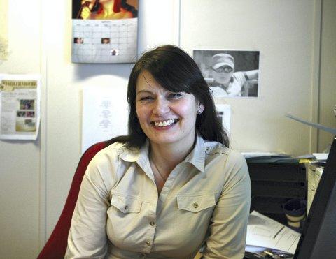 """SUKSESS: Prosjektleder Linda Flaaten-Stokkan jobber for at årets konferanse, """"Smak av fremtiden"""", skal være like """"matnyttig"""" for deltakerne som den første konferansen som ble holdt i fjor. Foto: Harold Jenssen"""
