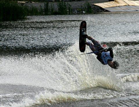 EM IGJEN: Slåstad Vannskiklubb arrangerte ungdoms-EM i 2009 og åpent EM i 2011. I juli kommer nok en gang store deler av eliten til SIAP for å konkurrere. Arkivfoto