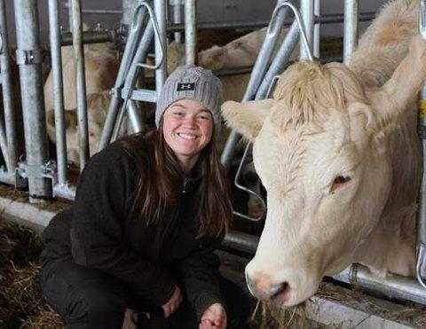 Camilla Bye fra Grue brenner for norsk landbruk og matproduksjon, og sier at det som Bondelaget gir av samhold og faglig påfyll er ekstra viktig for en ung bonde.