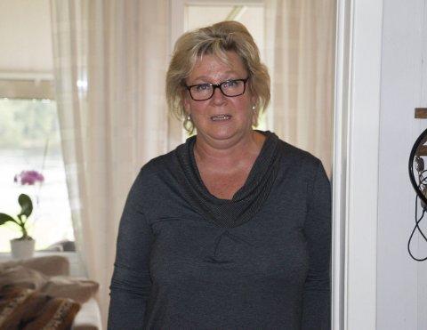 HJEMME: Stortingsrepresentant Tone Merete Sønsterud (Ap) pakker en av de nærmeste dagene ut av stortingsleiligheten hun disponerer like bak Slottet, og gleder seg til å være mer hjemme med samboer i huset sitt på Gjemselund i Kongsvinger. FOTO: PER HÅKON PETTERSEN