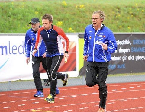 ØNSKELIG: Dag Kåshagen (t.h.), sportslig leder i Moelven Friidrett, ønsker et tett samarbeid med Lillehammer IF velkommen. Begge foto: Hans Bjørner Doseth