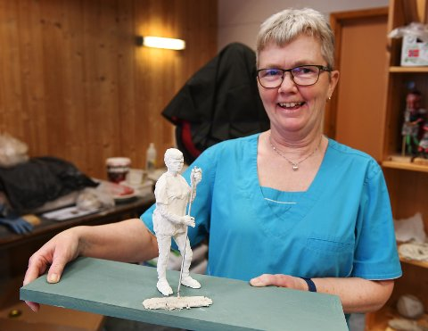 Wenche Rohaugen Jonsen, renholder på Heidal skule