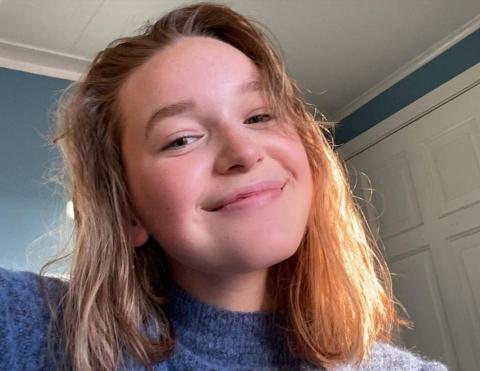 Ruth Granaasen Fougner har nesten akkurat begynt å kunstsminke seg i ansiktet, men imponerer allerede på instagramkontoen ruth_granaasen.