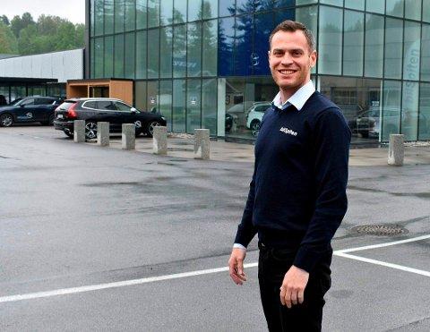 Kjetil Måkestad (34) kommer fra Odda, men er bosett i Kongsberg.