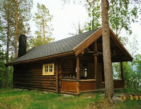 Hattfjelldal: Statskogs hytte i Øvre Luspen i Hattfjelldal  kommune.