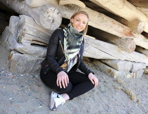 HARMONI: For Marte Nystad Glad er det vanskelig å holde jubelen inne når alt stemmer. Det kan være på toppen av et fjell med puddersnø, eller yoga i elvesand under ei brygge.