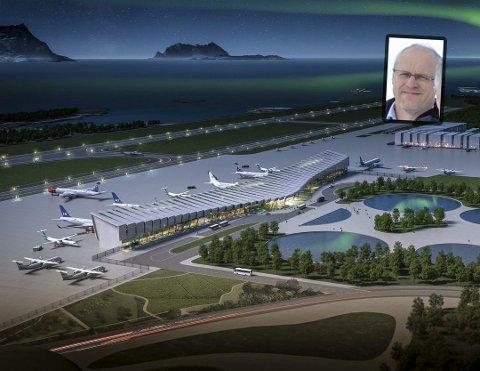 Fyrer løs: Lars Erik Drevvatne har i flere år kjempet for ny flyplass i Rana. Nå er han glad det er kommet en rapport som fastslår at ny flyplass i Bodø er svært lite samfunnsøkonomisk og mener Bodø har sneket i køen.