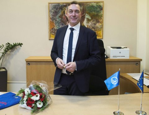 HAR AMBISJONER OM Å BLI I OSLO: Frank Bakke-Jensen har ambisjoner om å bli i Oslo etter valget. Helst i regjering, eller på Stortinget. Han har ingen planer om å tape valget, så han må flytte hjem til Finnmark