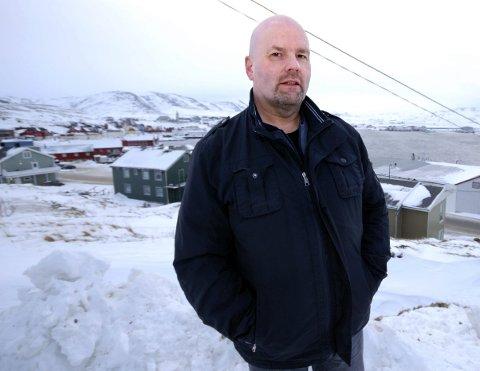 Dyre summer: Oddbjørn Hansen i Gamvik Sp fortviler over dyre summer for å fly ut av fylket. foto: Alf Helge Jensen