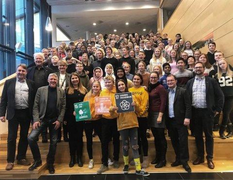 21 grupper presenterte sin idé i finalen. Juryen bestod av ordførere og stortingsrepresentant Turid Kristensen.