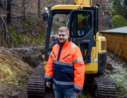 Virksomhetsleder Andreas Tengelsen håper å få svar på vannprøvene i morgen.