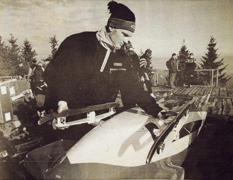 BOB-BOB: Jørn Stian Dahl var med i det første norske OL-laget i Bob siden 1952 i Oslo.
