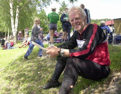 ÆRSMEDLEM: Erik Engebråten var Kongsberg O-lags første æresmedlem. Nå er hederskaren død. FOTO: OLE JOHN HOSTVEDT