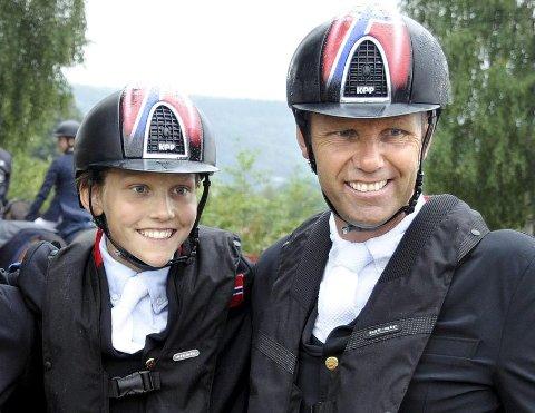OG DE NOMINERTE ER: Johan Sebastian Gulliksen og Geir Gulliksen er nominerte til hver sin pris under hestesportens svar på Idrettsgallaen.