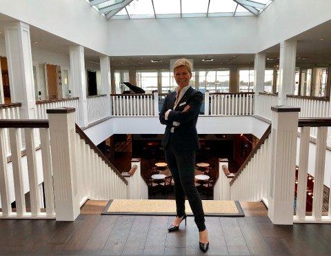 TRENGER FLERE: Støtvig Hotel sliter med liten tilgang på lærlinger. Hotelldirektør Laila Aarstrand mener det tidlig må informeres til unge at det er spennende jobber innen reiseliv.