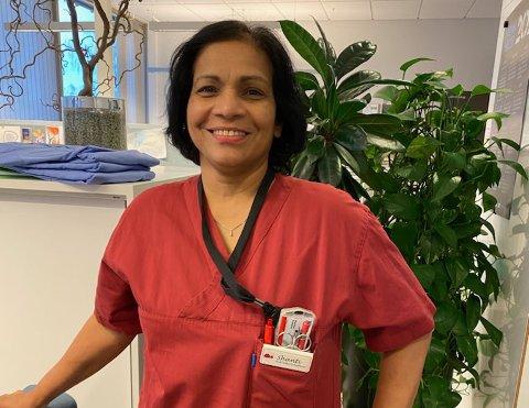Shantini Srikaran, avdelingsleder vedPersaunet helse- og velferdssenter