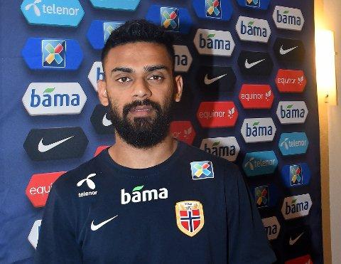 SAMLING: Ghayas Zahid har gjort det bra i klubblaget APOEL, og er endelig inne i landslagsvarmen.